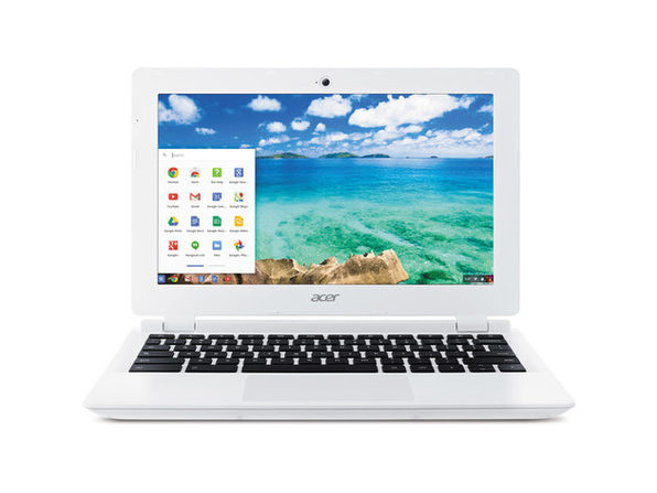 "Acer Chromebook CB3-111-C670 Tablet Computer, 2.16 GHz Intel Celeron, 2GB DDR3 RAM, 16GB SSD Hard Drive, Chrome, 11"" Screen (Renewed)"