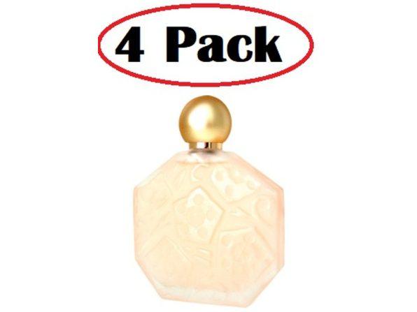 4 Pack of Ombre Rose by Brosseau Eau De Toilette Spray 3.4 oz - Product Image