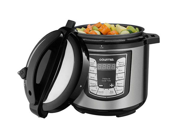 Gourmia® GPC625 6-Qt Digital Multi-Function Pressure Cooker