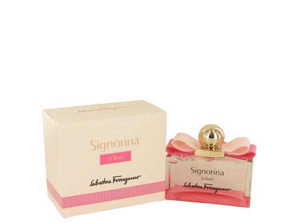 Signorina In Fiore by Salvatore Ferragamo Eau De Toilette Spray 3.4 oz for Women