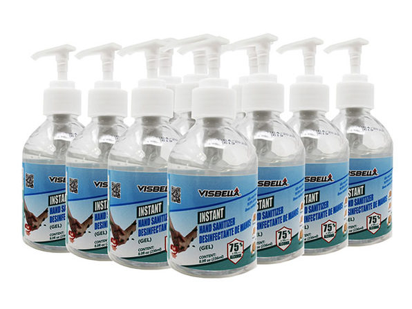 Instant Hand Sanitizer Gel (Set of 10)