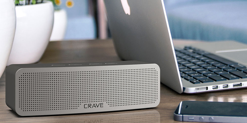 Get the Crave Curve 20W Bluetooth 4.2 Speaker for $54.39 with promo code GREEN20