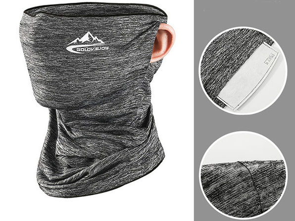 Outdoor Sports Mask - Hemp Grey - Product Image