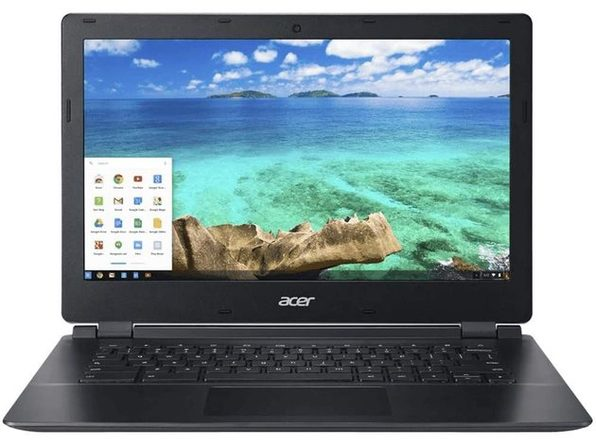 "Acer C810-T7ZT 13"" Chromebook, 2.1GHz Intel Celeron, 4GB RAM, 16GB SSD, Chrome (Renewed)"