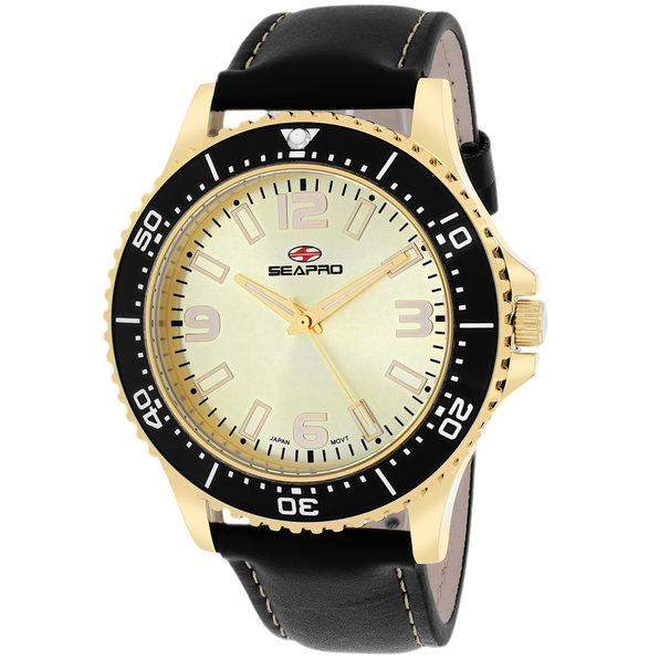 Seapro Men's Tideway Gold Dial Watch - SP5315 - Product Image