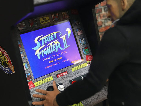 Street Fighter II: Champion Edition X RepliCade