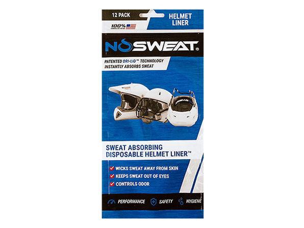 NoSweat® Helmet Liners: 12-Pack