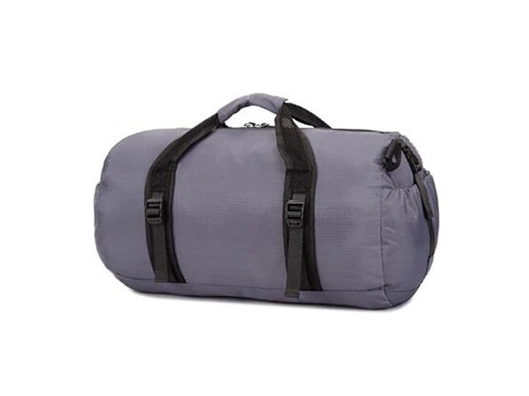 Foldable Travel Duffel Bag - Gray - Product Image