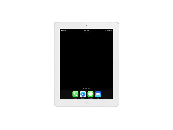 Refurbished iPad 4 16GB White - Fair Condition - Product Image