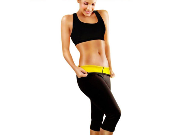 Slimming Shaper Capri Pants (Large)