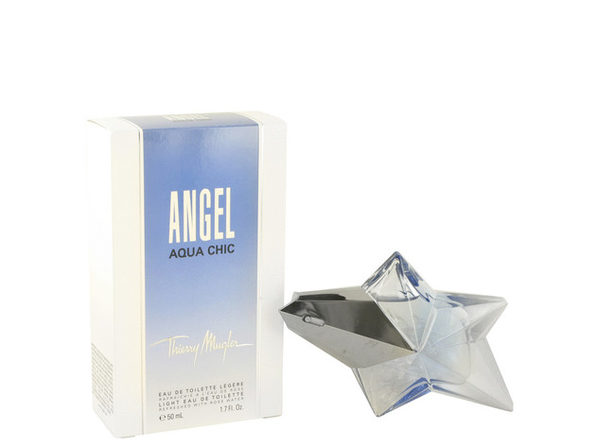 Angel Aqua Chic Light Eau De Toilette Spray 1.7 oz For Women 100% authentic perfect as a gift or just everyday use - Product Image