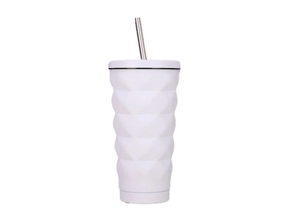 GearPride Stainless Steel Insulated Cup (White)