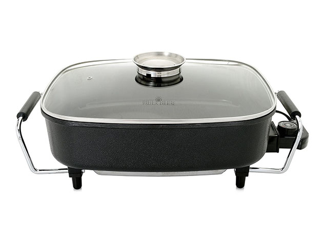 An electronic skillet