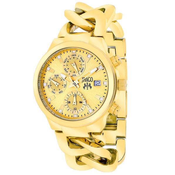 Jivago Women's Levley Gold tone Dial Watch - JV1242