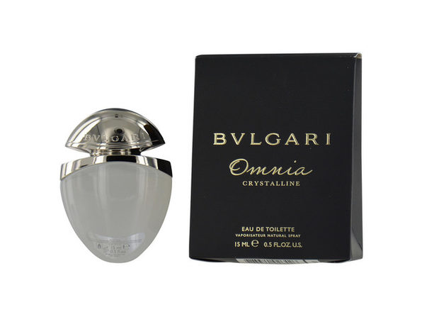 BVLGARI OMNIA CRYSTALLINE by Bvlgari EDT SPRAY .5 OZ for WOMEN ---(Package Of 3) - Product Image
