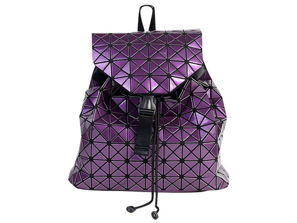 Geo Shaped Backpack - Purple - Product Image