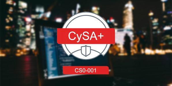 CompTIA CySA+ Cybersecurity Analyst (CS0-001) - Product Image