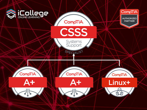 The CompTIA Systems Support Specialist Bundle - Product Image
