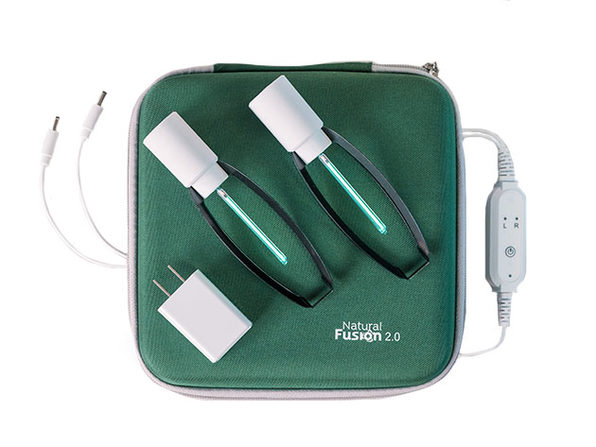 Natural Fusion 2.0 Wireless UV Sanitizer: 2-Pack