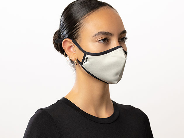 STOGO Antimicrobial Masks: 2-Pack, on sale for $23.99 when you use coupon code OCTSALE20 at checkout