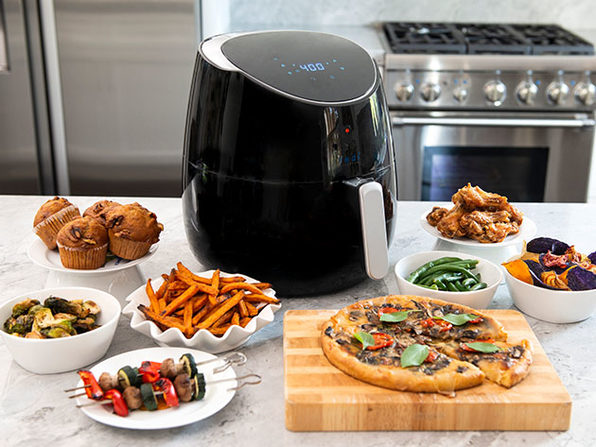 Yedi® Total Package 5.8Qt Ceramic Air Fryer