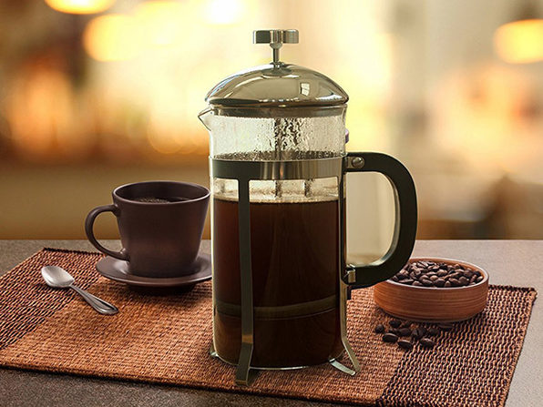 nuvita french press coffee maker stacksocial. Black Bedroom Furniture Sets. Home Design Ideas