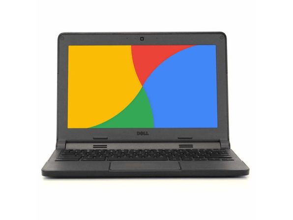 "Dell Chromebook 3120 Laptop, 2.16 GHz Intel Celeron, 4GB DDR3 RAM, 16GB SSD, Chrome, 11"" Screen (Refurbished Grade B)"