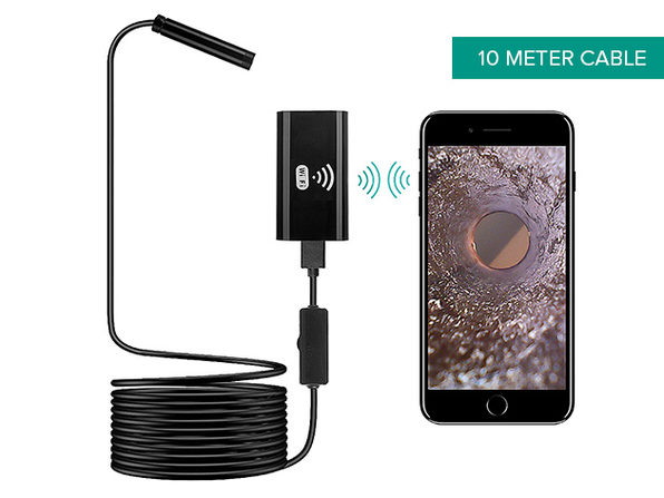 Sinji Flexible Borescope Camera for Android & iOS (10 Meters)