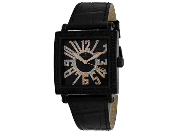 Christian Van Sant Women's Black Dial Watch - CV0244