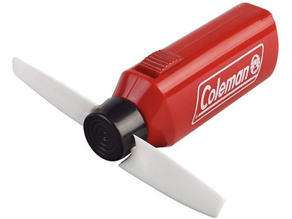 Coleman 2000016472 Cool Zephyr Mini Fan, Red - Product Image