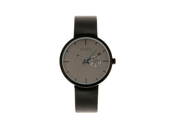 "Simplify ""The 3900 Series"" Men's Quartz Watch (Model 3902)"