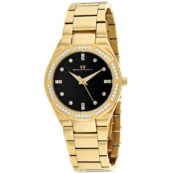 Oceanaut Women's Athena Black mother of pearl Dial Watch - OC0257 - Product Image