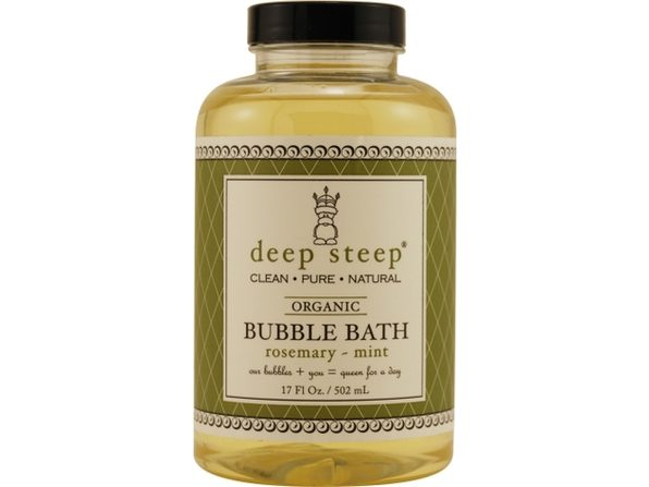 DEEP STEEP by Deep Steep ROSEMARY-MINT ORGANIC BUBBLE BATH 17 OZ for UNISEX ---(Package Of 3) - Product Image