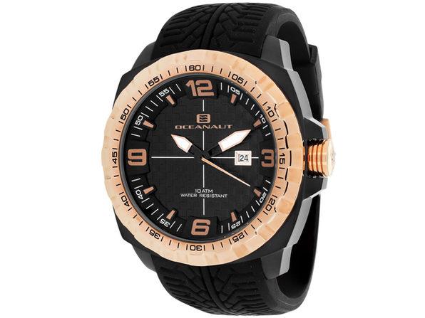 Oceanaut Men's Racer Black Dial Watch - OC1111