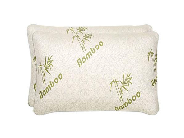Shredded Memory Foam Bamboo Pillow (King/2-Pack)