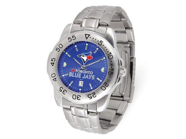 MLB Mens Toronto Blue Jays Sport Steel Watch - Product Image