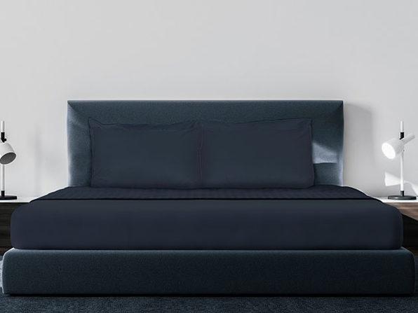 Luxe Soft & Smooth 6-Piece Sheet Set (Dark Navy/King)
