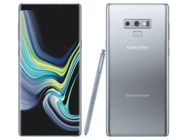 Samsung Galaxy Note 9 Unlocked 128GB Silver (Grade B) - Product Image