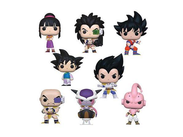 Funko POP - Dragon Ball Z - S6 - Bundle of 8