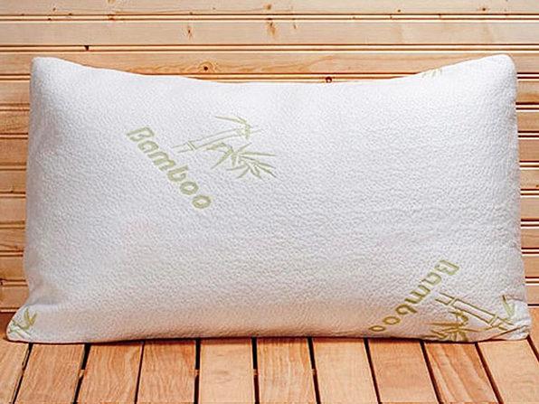 Organic Jumbo Bamboo Pillows: 2-Pack