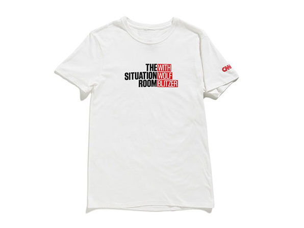 The Situation Room Tee White M