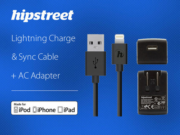 MiFi Certified Lightning Cable + AC Charger(Canada) - Product Image
