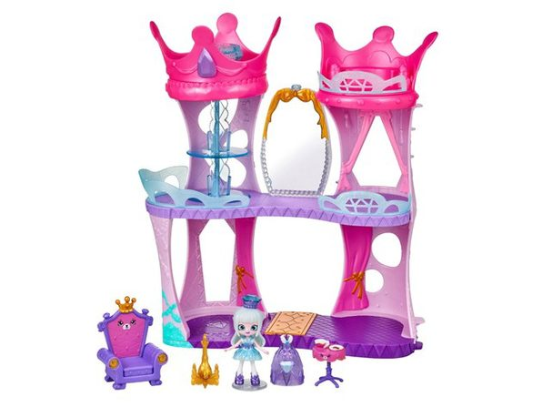 Shopkins Happy Places Doll House Line with Many Accessories, 1 Royal Castle Playset, For Ages 4 and Up (New Open Box)