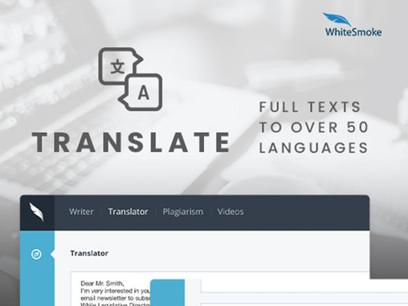 WhiteSmoke Grammar Checker: Lifetime Subscription (Web)