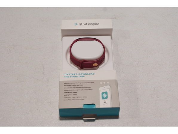 Fitbit FB412BYBY Inspire On Screen Dashboard Fitness Tracker, One Size - Sangria (Used, Open Retail Box) - Product Image