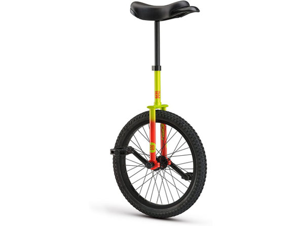 """Raleigh Unistar SE 20, 20"""" Wheel Unicycle Lightweight Chromo Steel Frame - Green (New) - Product Image"""