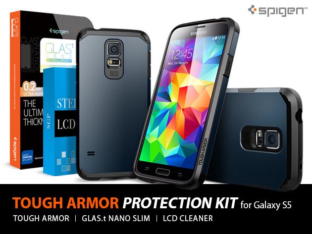 Galaxy S5 Tough Armor Bundle: Elite Protection without the Bulk   Pocketnow Deals