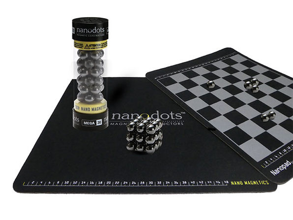 "16"" Nanopad™ Game Board with 15mm Mega Nanodots® (Black)"