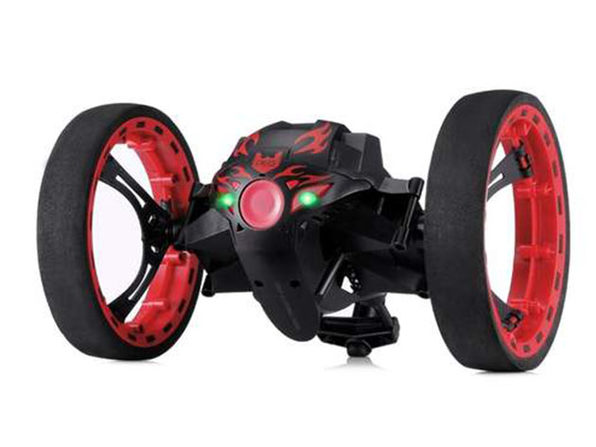 Remote Control 2-Wheeled Jump Car Toy