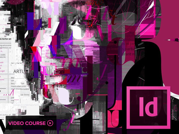 All-Level Adobe InDesign CC Tutorial  - Product Image